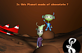 Map to the Chocolate Planet